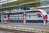 Swiss trem da empresa sbb — Foto Stock