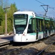Stock Photo: Tramway T2 in Paris, France