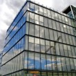 Glass building in Paris, France — Stock Photo #13498499