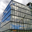 Glass building in Paris, France — Stock Photo