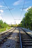 Railways in France — Stock Photo