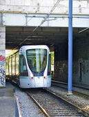 Tramway T2 in Paris, France — 图库照片