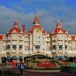 Disneyland entrance castle — Stock Photo #13509138