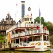 Molly Brown ship in the Disneyland - Stock Photo