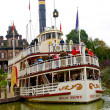 View of the Molly Brown ship in the Disneyland - Stock Photo
