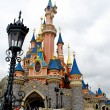 Part of the Sleeping beauty castle in the Disneyland of Paris - Stock Photo