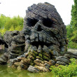 Skull rock — Stock Photo