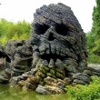 Stock Photo: Skull rock