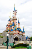 Sleeping beauty castle — Stock Photo