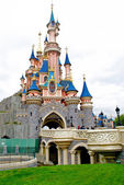 View of the Sleeping beauty palace — Stock Photo