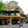 Foto Stock: Walk near beautiful place in Disneyland