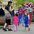 Family in the Disneyland — Stock Photo #13523667