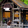 Blacksmith house in the Frontierland — Stock Photo