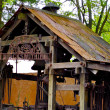 Foto Stock: Blacksmith house in Frontierland
