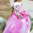 Little girl in a very beautiful dress — Stock Photo #13524043