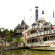 Molly Brown ship is far in the Disneyland - Stok fotoğraf