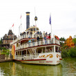 Molly Brown ship is far in the Disneyland - Stock Photo