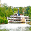 Molly Brown ship is arriving — Stock Photo