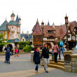 Stock Photo: Disneyland village