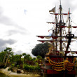 Captain Hook's pirate ship — Foto Stock