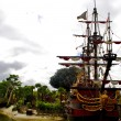 Captain Hook's pirate ship — Photo