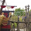 Come on the captain Hook's pirate ship — ストック写真