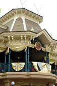 Beautiful construcction in the Disneyland — Stock Photo