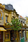 Building on the main street in the Disneyland — Stock Photo