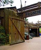 Door to the Frontierland — Stock Photo