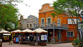 Houses in the Frontierland — Stock Photo