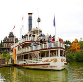 Molly Brown ship is far in the Disneyland — Stock Photo