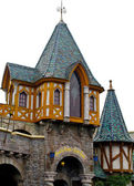 House of the village in Disneyland — Stock Photo