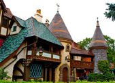 Small village in the Disneyland — Stock Photo