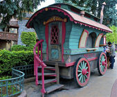 Fairy tale wagon — Stock Photo