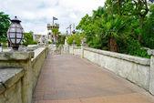 長い橋 — ストック写真