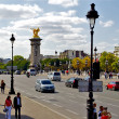 Bridge of Alexandre III, Paris, France — Stock Photo