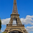 Stock Photo: Eiffel tower, world miracle