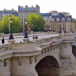 Pont Neuf. New bridge in Paris, France — Stock Photo