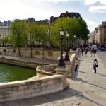 Pont Neuf. New bridge in Paris, France — Stock Photo