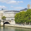 Pont Notre-Dame, Notre Dame bridge, Paris, France — Stock Photo #13541208