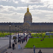 Les invalides, Paris — Stock Photo