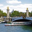 Stock Photo: Paris, Bridge over Seine