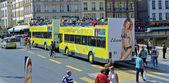 Tourist bus in Paris — Stock Photo