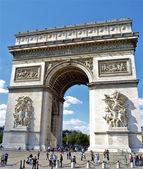 Arc de triomphe du carrousel, paryż, francja — Zdjęcie stockowe