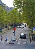 Street of Paris, France — Stock Photo