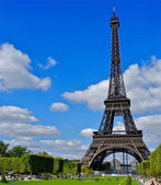 Eiffel tower view, Paris, France — Stock Photo
