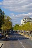 улица в париже, франция — Стоковое фото