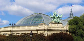 Top of Grand Palais, Paris, France — Stock Photo