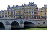 Pont Royal, Royal bridge, Paris, France — Stock Photo