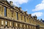 Sight of Louvre, Paris, France — Stock Photo